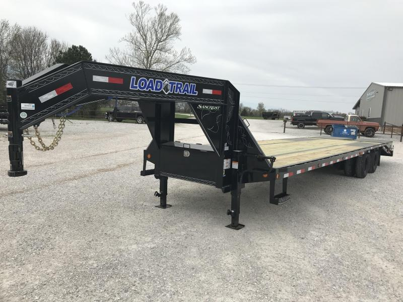 2019 Load Trail 102x32(27+5) TANDEM LO-PRO GOOSENECK W/10K AXLES & MAX RAMPS