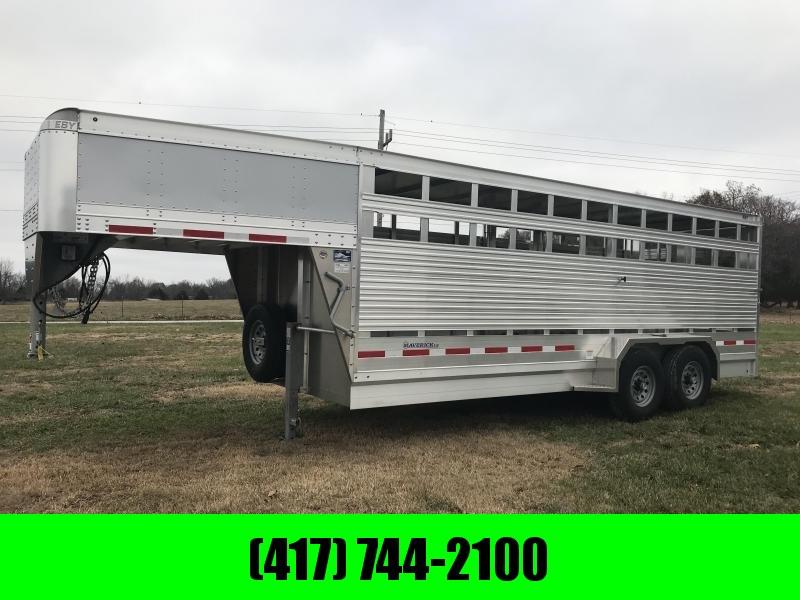 "2019 EBY 20'X6'11""X6'6"" GOOSENECK Livestock Trailer W/7K AXLES in Ashburn, VA"