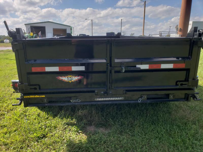 2019 H and H 83x14 Dump Trailer LOW-PRO w/7 GA. FLOOR AND 7K AXLES