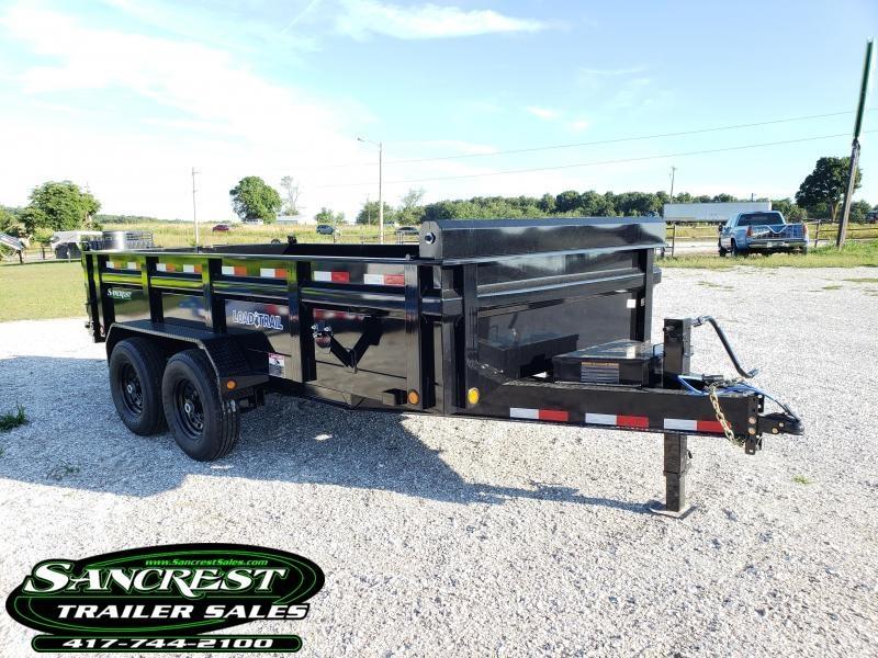 """2019 Load Trail 83"""" x 14' Tandem Axle Dump in Cedarcreek, MO"""