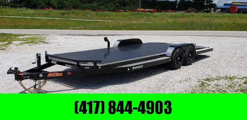 2019 MAXXD 83X20 TANDEM 10K WET BLACK N5X CAR HAULER W/ SPLIT TAIL