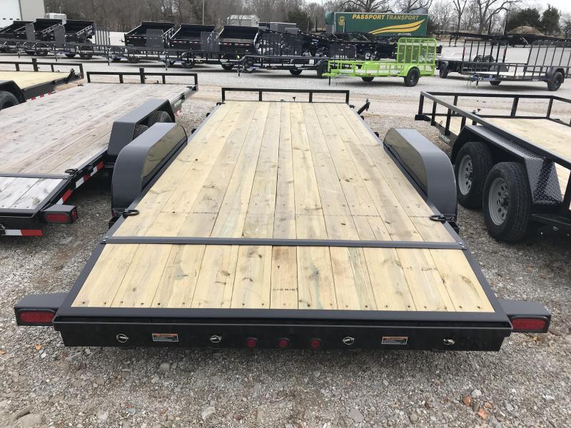 "2019 Load Trail 83x20 5"" channel CAR HAULER w/3500 axles"
