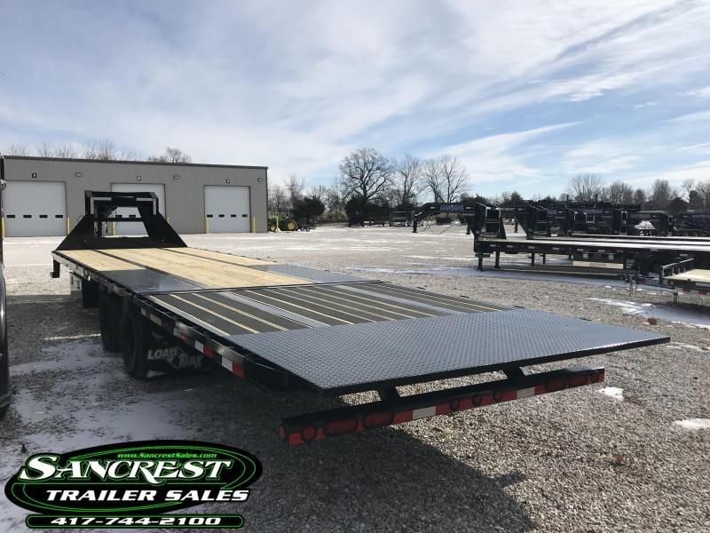 2019 Load Trail 102x32 lo-pro Gooseneck Flatbed Trailer W/HYDROTAIL(BLACKWOOD 10') AND JACKS