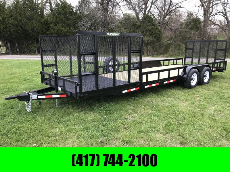 2018 STAG 81.5X24 Equipment Trailer W/ 3 RAMPS in Ashburn, VA