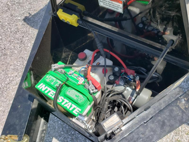 "2018 Load Trail 96"" x 14' Tandem Axle Pintle Hook Deck Over Dump"