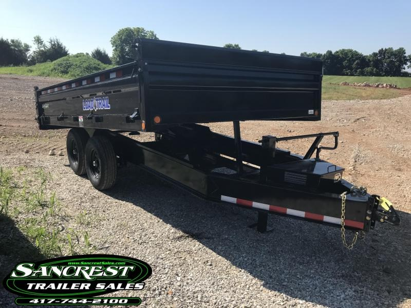 2018 Load Trail 96x14 DECKOVER Dump Trailer  in El Dorado Springs, MO