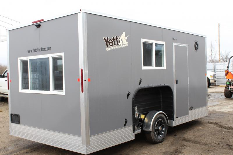 2020 Yetti A816-PK Ice/Fish House Trailer