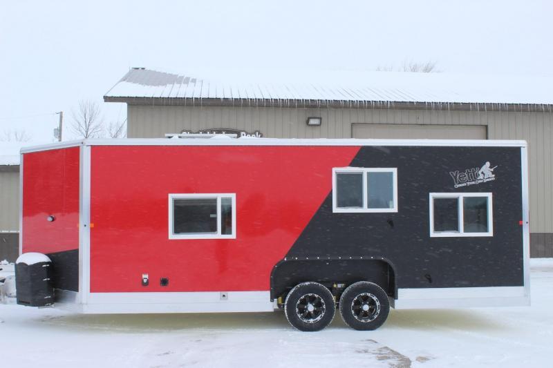 2019 Yetti Traxx T821-PK Toy Hauler Fish House