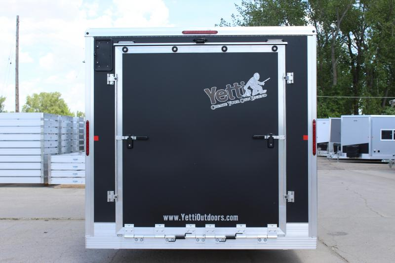 2020 Yetti T816-PK Ice/Fish House Trailer