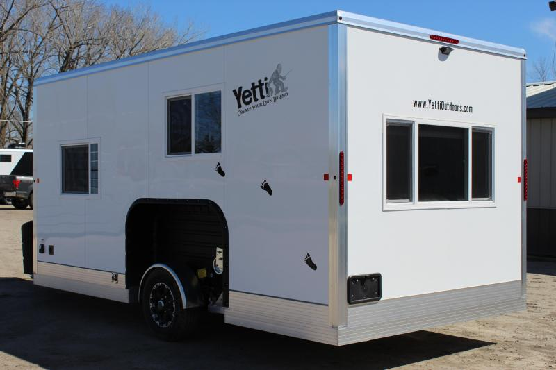 2020 Yetti A816-PK Ice/Fish House Trailer