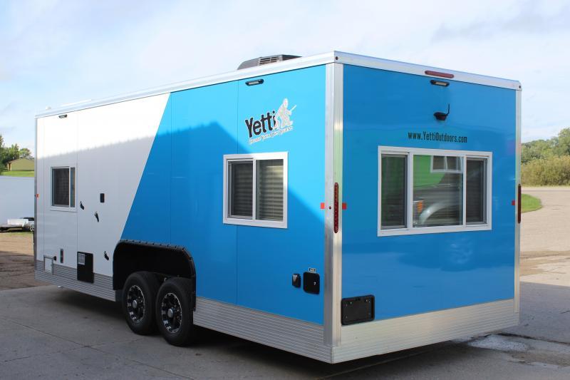 2020 Yetti Grand Escape GE821-DRKF RV/Fish House