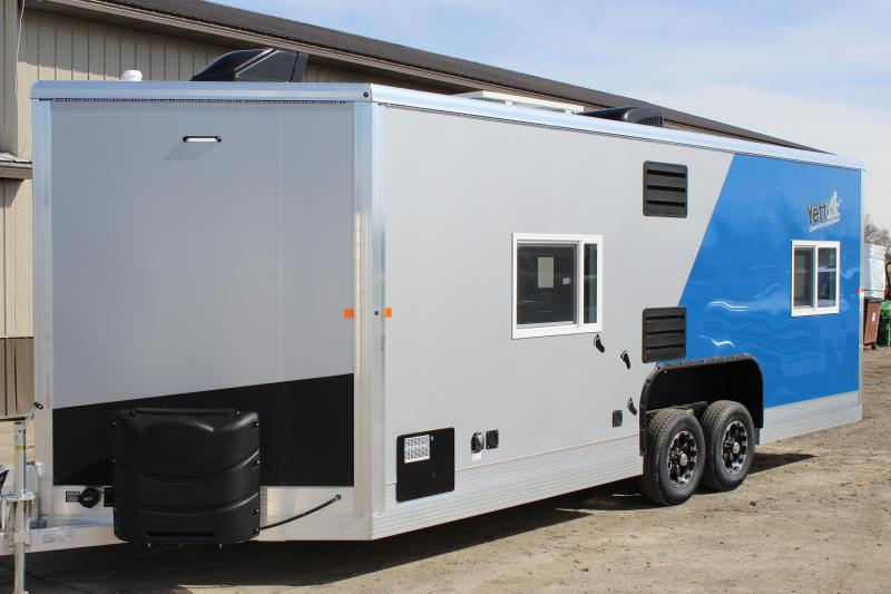 2020 Yetti GE821-PRKF Ice/Fish House Trailer