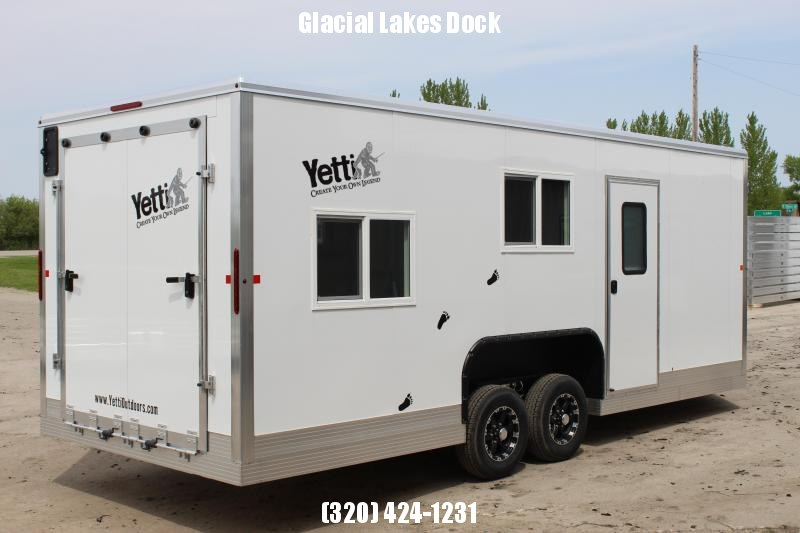2019 Yetti Traxx Shell Ice/Fish House Trailer