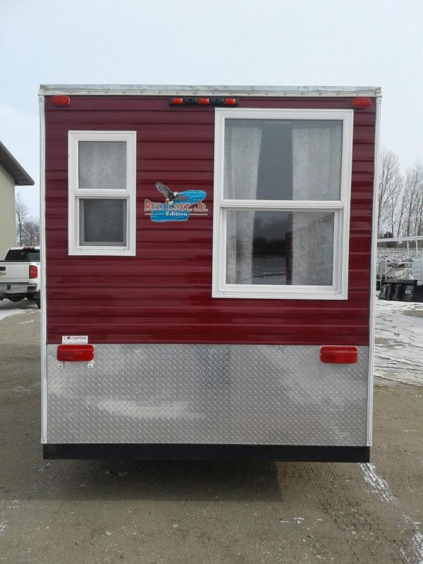 2015 Ice Castle 6.5 x 14 Red Lake Jr