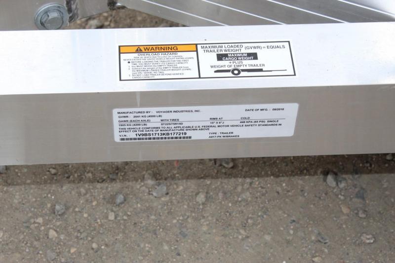 2019 Yetti Angler A817-PK (Hydraulic)