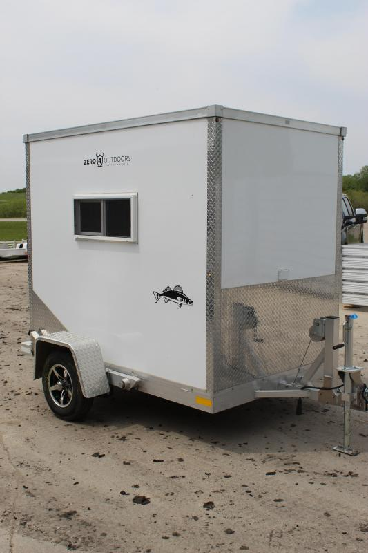 2016 Other Zero 4 Ice/Fish House Trailer