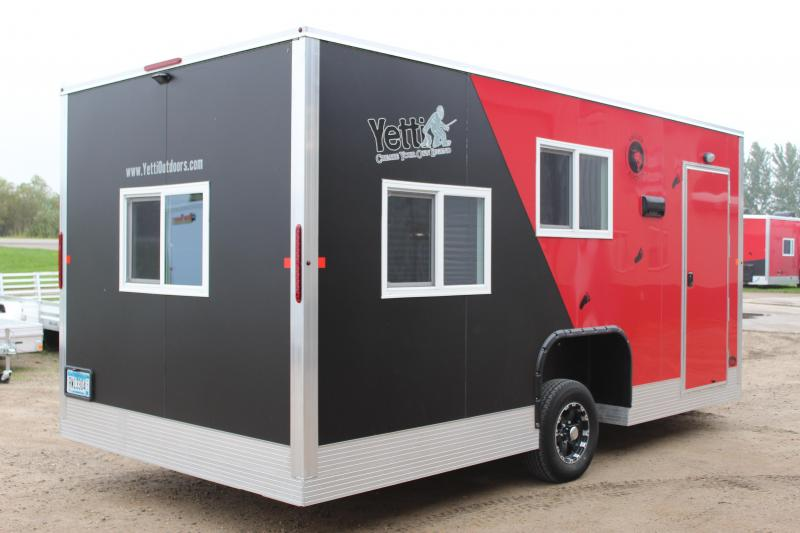 2018 Yetti Angler A817-PRK Fish House