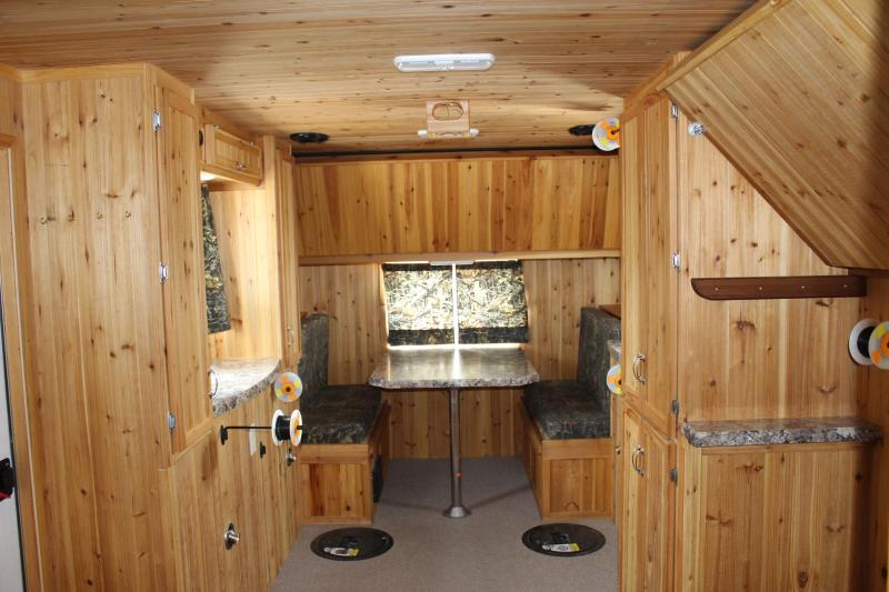 2016 Yetti 8 - 16 Custom Ice/Fish House Trailer