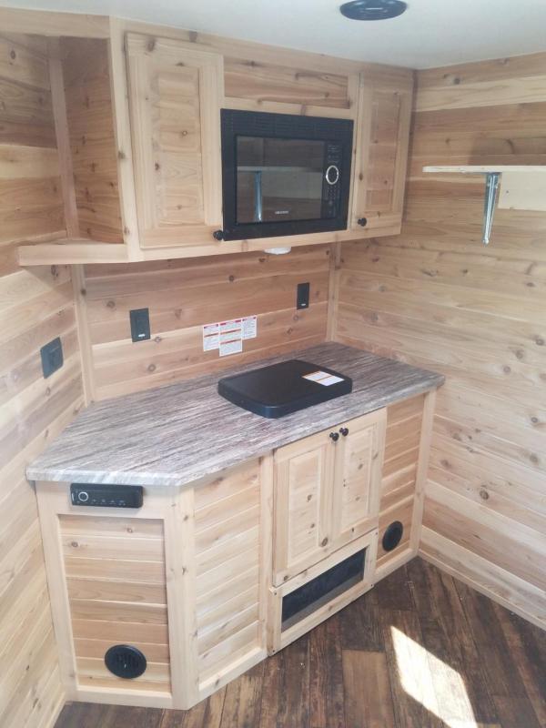 2017 Glacier A614 Fish House