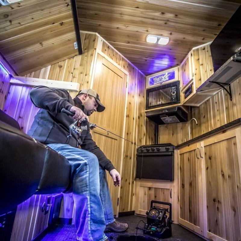 2018 Yetti Traxx T821-PKF RV Fish House Toy Hauler