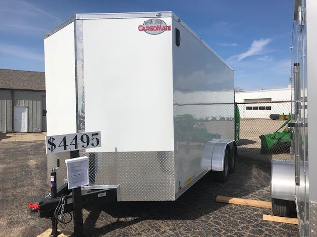 2018 Cargo Mate EHW716TA2 Enclosed Cargo Trailer