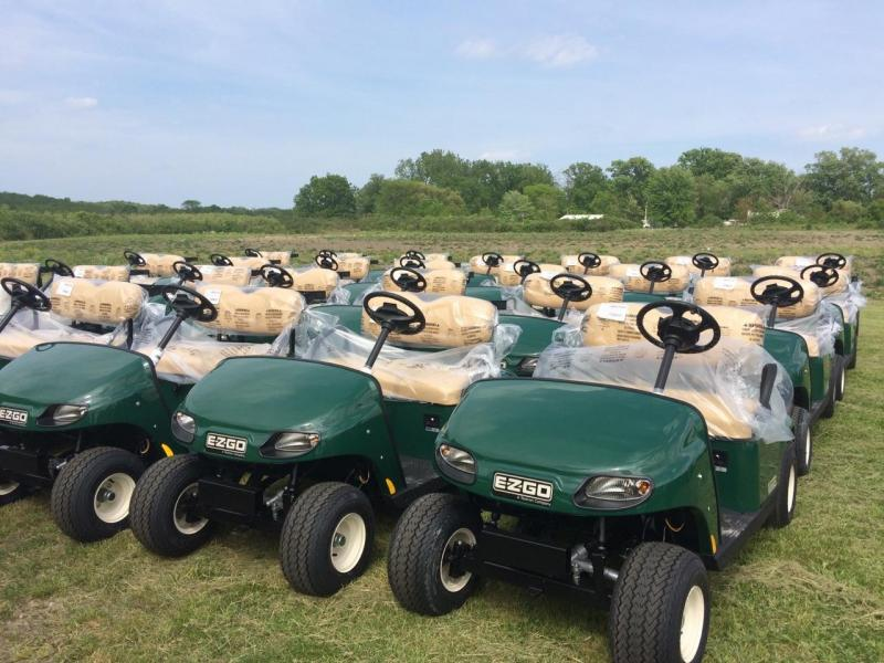 2019 E-Z-Go Fleet Carts