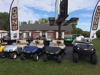 2018 E-Z-Go Golf Carts