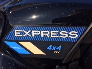 2019 E-Z-GO Express 4X4