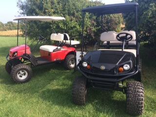 2018 Cushman SHUTTLE 2 + 2 Golf Cart