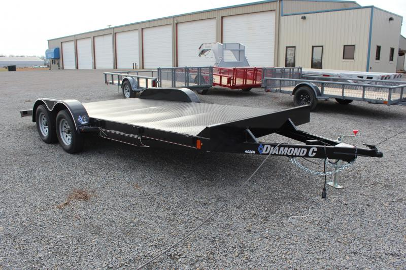 2019 Diamond C Trailers 40ECH Car / Racing Trailer
