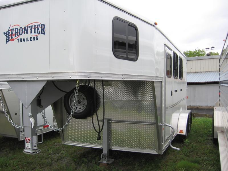 2015 Frontier Strider 2H Slant Horse Trailer - REDUCED