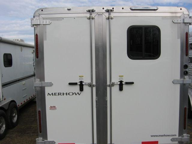 2018 Merhow 8311RWS Horse Trailer