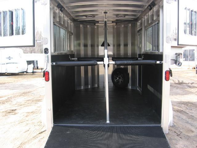 2019 Exiss Trailers Express 2H-BP ST Horse Trailer