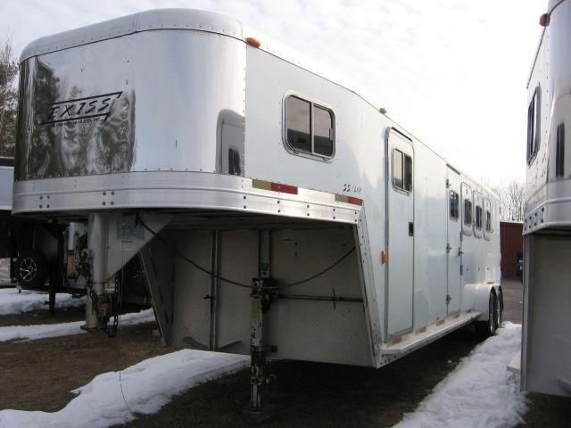 2001 Exiss Trailers SS408 Horse Trailer - REDUCED