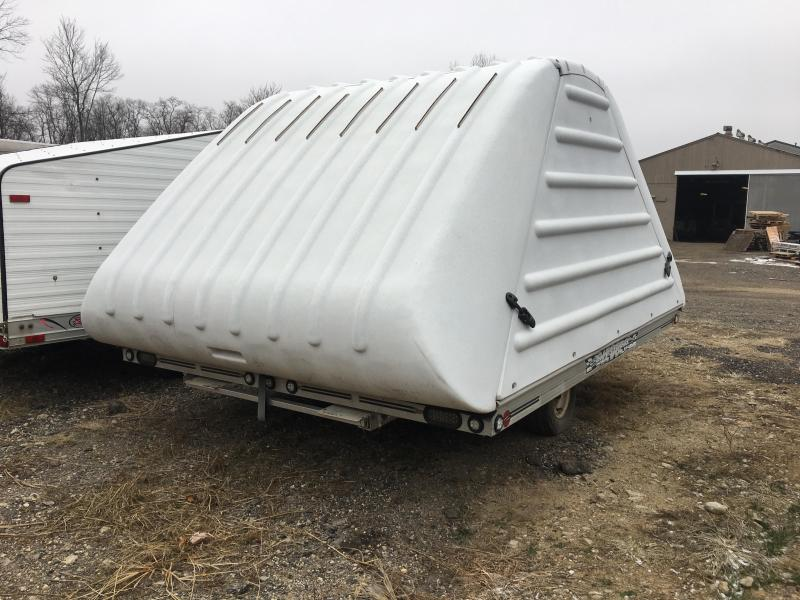 2006 SledBed 8.5x10 Snowmobile Trailer