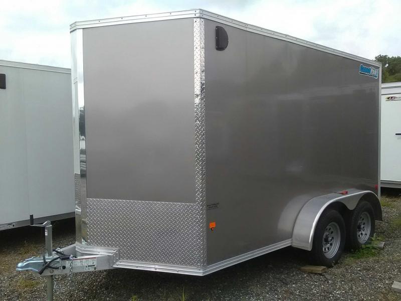 2018 Cargo Pro 7x12 Enclosed Aluminum Cargo Trailer
