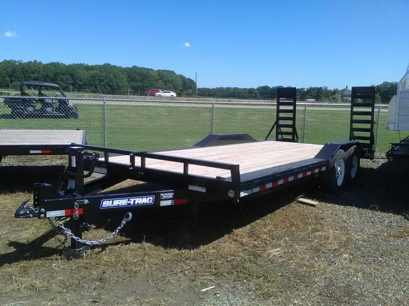 2019 Sure-Trac 8.5X20 14K Drive-Over Fender Equipment Trailer