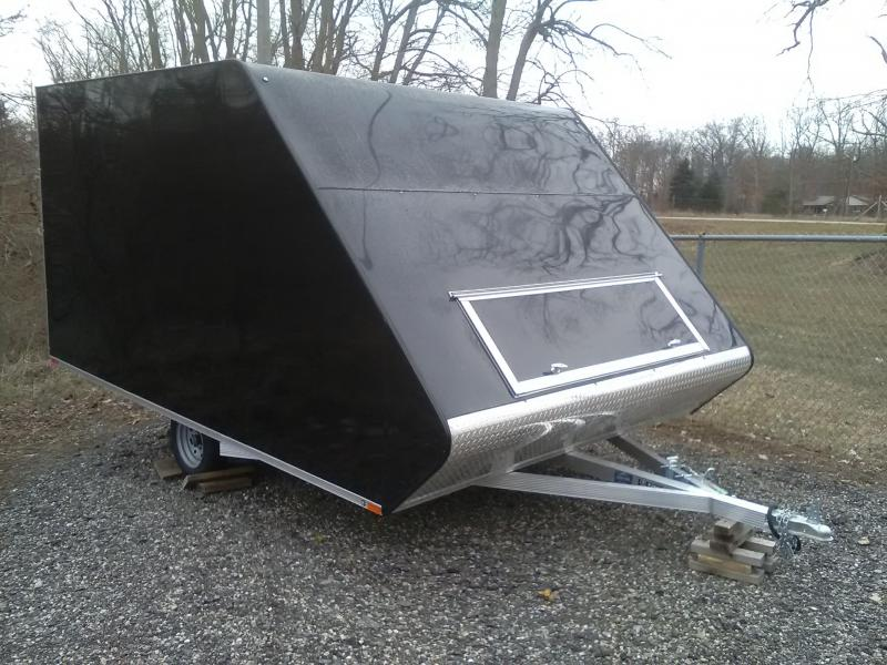 2019 Sport Haven AH1385M Snowmobile Trailer