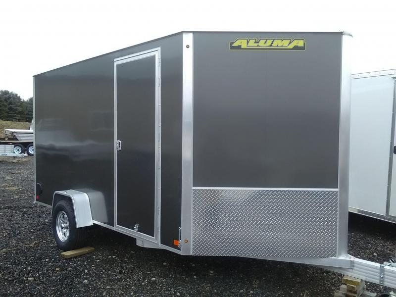 2019 Aluma AE712SR Enclosed Cargo Trailer
