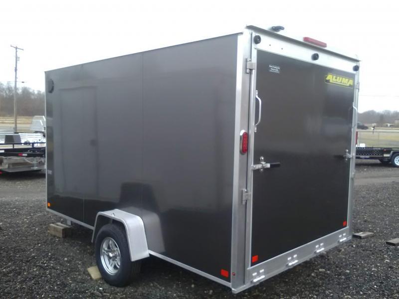 2019 Aluma AE712SR Enclosed Cargo Trailer