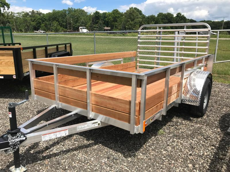 Legend Manufacturing 6x10 3-Board High Side Utility Trailer