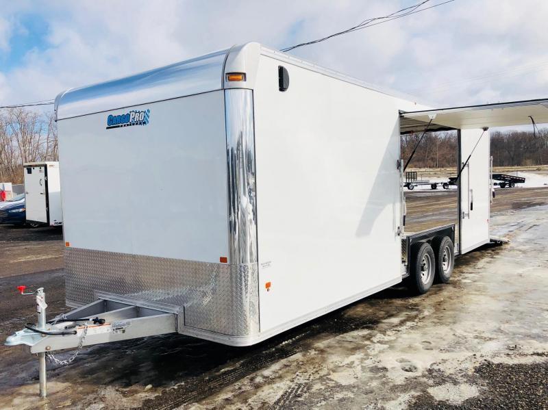 2018 Cargo Pro 8.5X24 All Aluminum Car Hauler / Racing Trailer