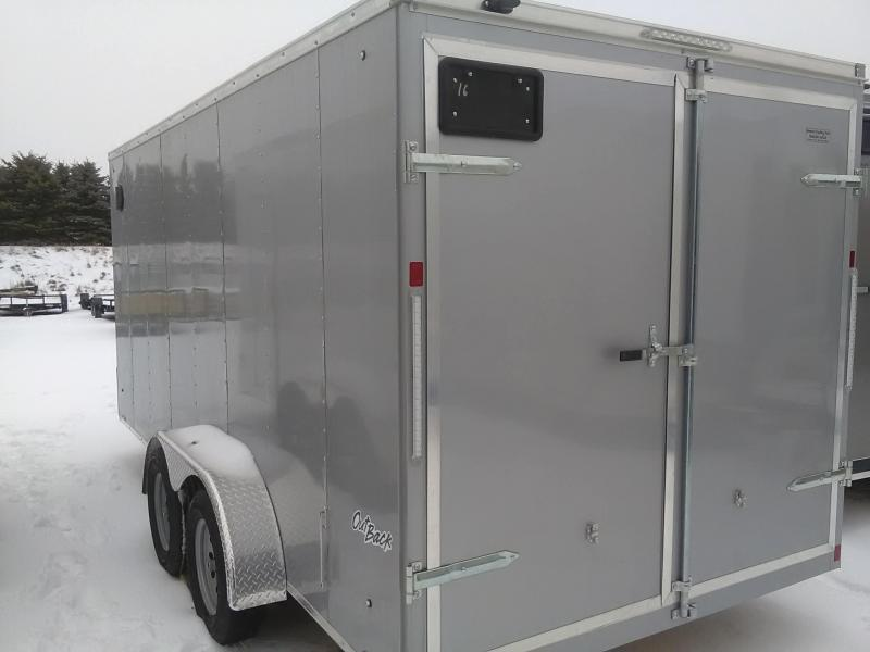 2019 Pace American Outback Cargo Dlx Cargo / Enclosed Trailer