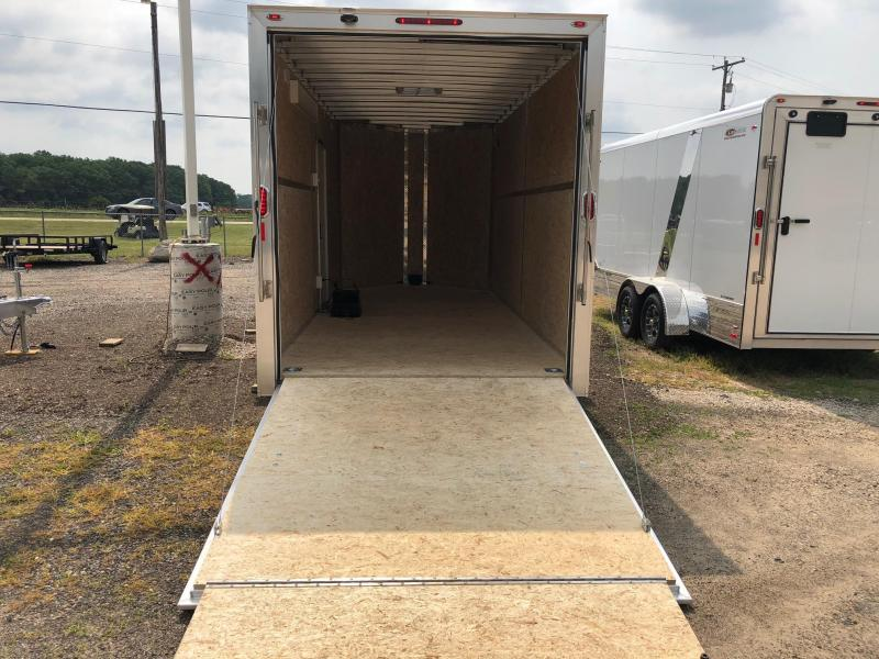 2019 Legend Manufacturing 719 Flat-Top V-Nose Enclosed Trailer