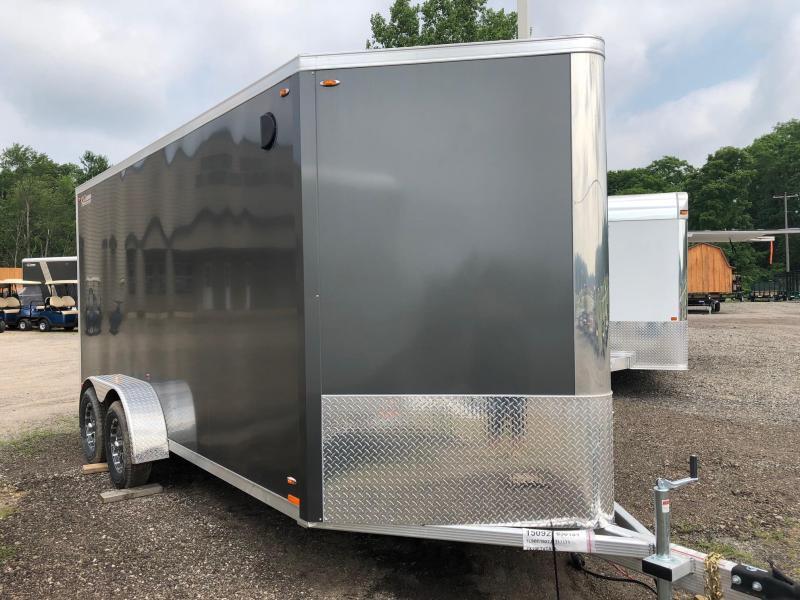 2019 Legend Manufacturing 719 Flat-Top V-Nose Enclosed Trailer