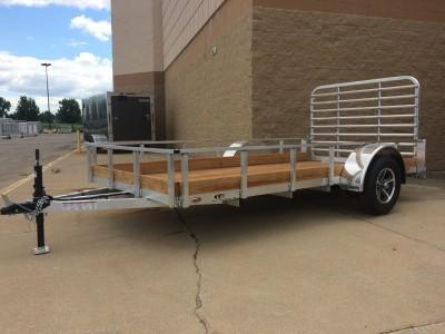 Legend Manufacturing 6X12 Low Wood Side Utility Trailer
