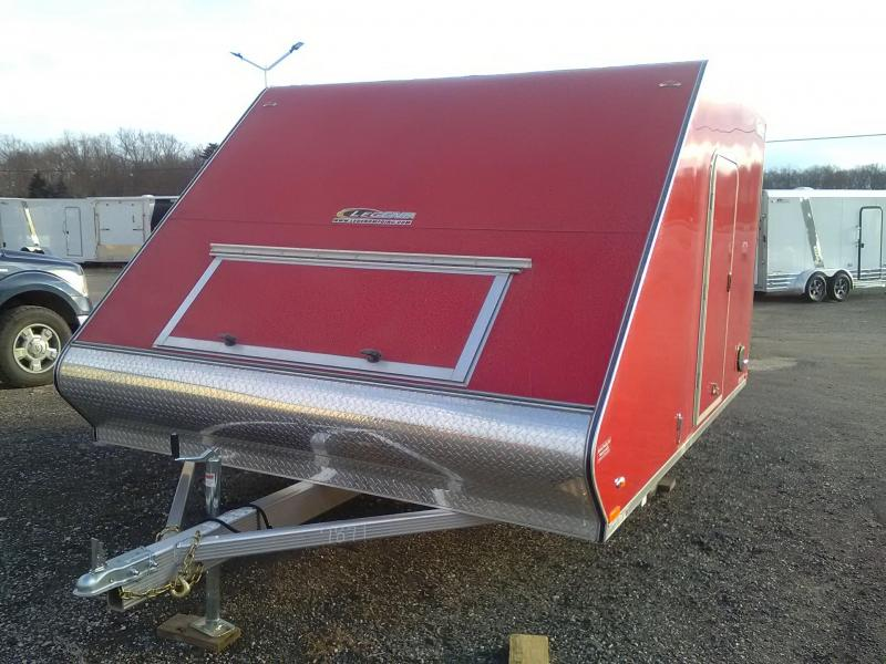 2019 Legend Trailers SL8.513SA Snowmobile Trailer