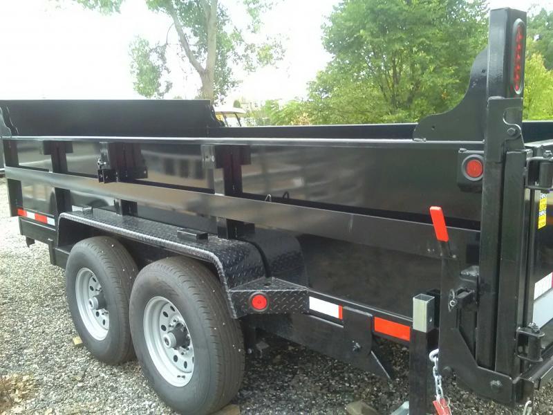 2020 Quality Steel 14' Dump Trailer