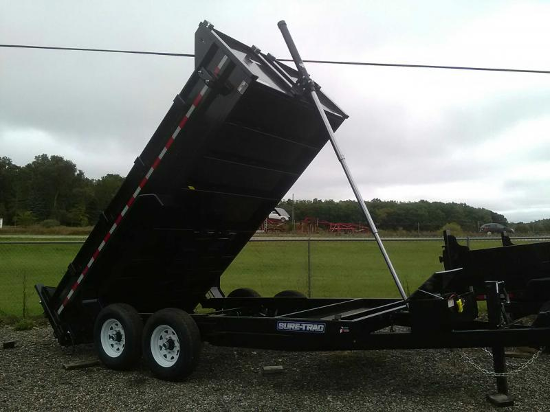 2019 Sure-Trac 7x14 Telescopic Dump Trailer