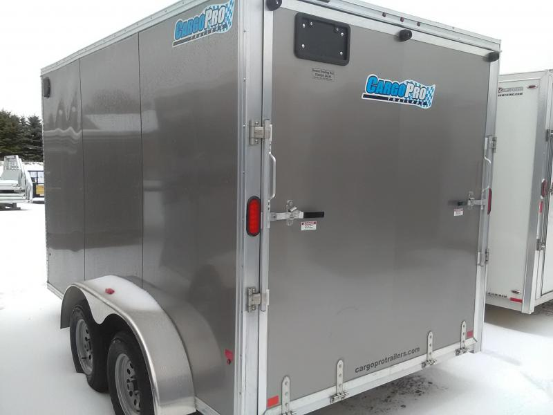 2018 CargoPro Trailers C712STA Enclosed Cargo Trailer
